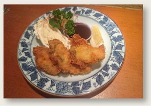牡蠣フライ 1,700円(税別)